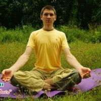 Сукхасана - легкая поза для медитации, видео