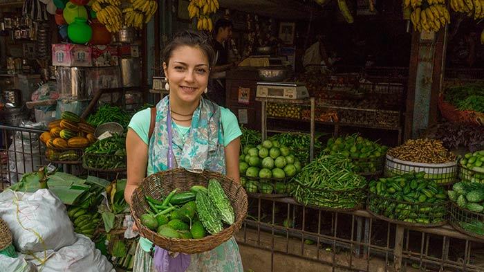 Рынок в Удупи