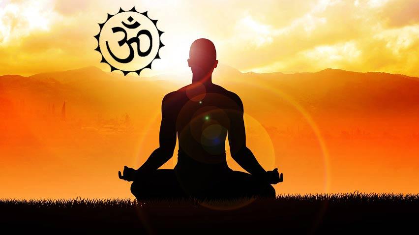 Йога Ом медитация