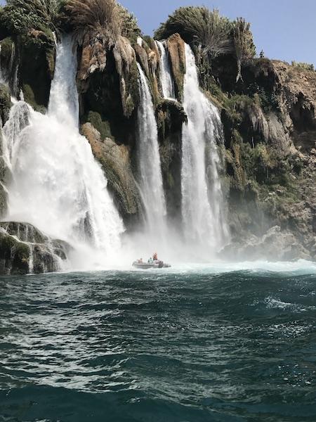Анталия, водопады