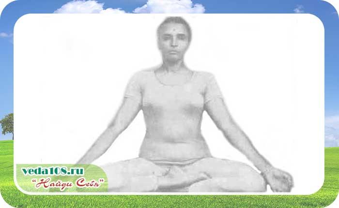Сиддха йони асана для женщин