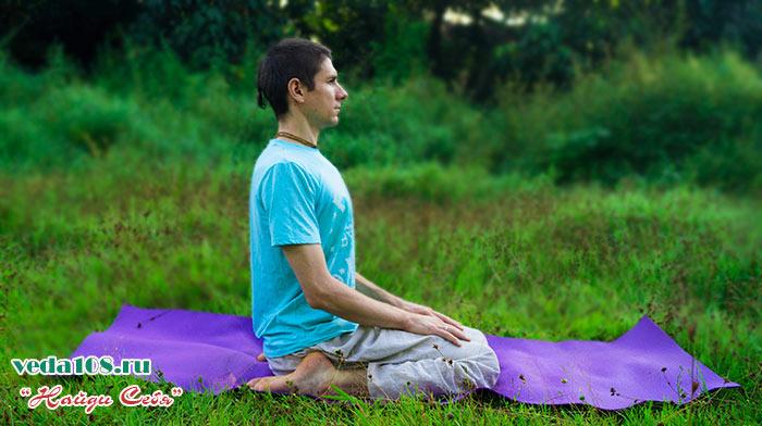 как сидеть правильно при медитации